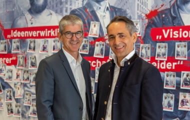 Ernst Thurnher and Hubert Rhomberg, the two Managing Directors of the Rhomberg Holding, reflected on the very successful 2018/2019 financial year.